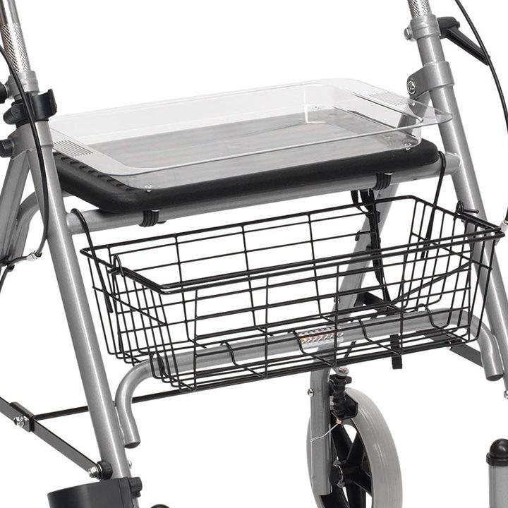 Drive SR8 Steel Rollator Walker Walking Frame Mobility Aid Folding ...