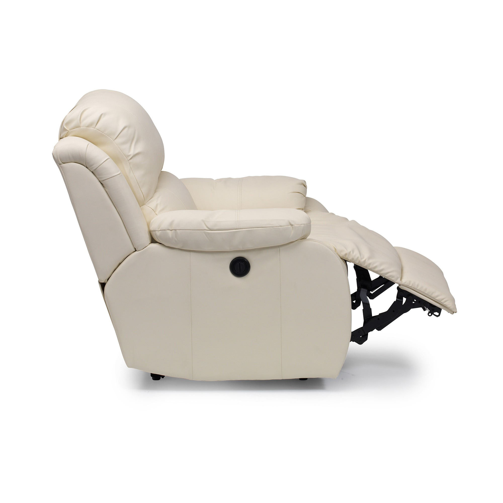 Drive Clifton Bonded Leather Manual Recliner Chair Rise