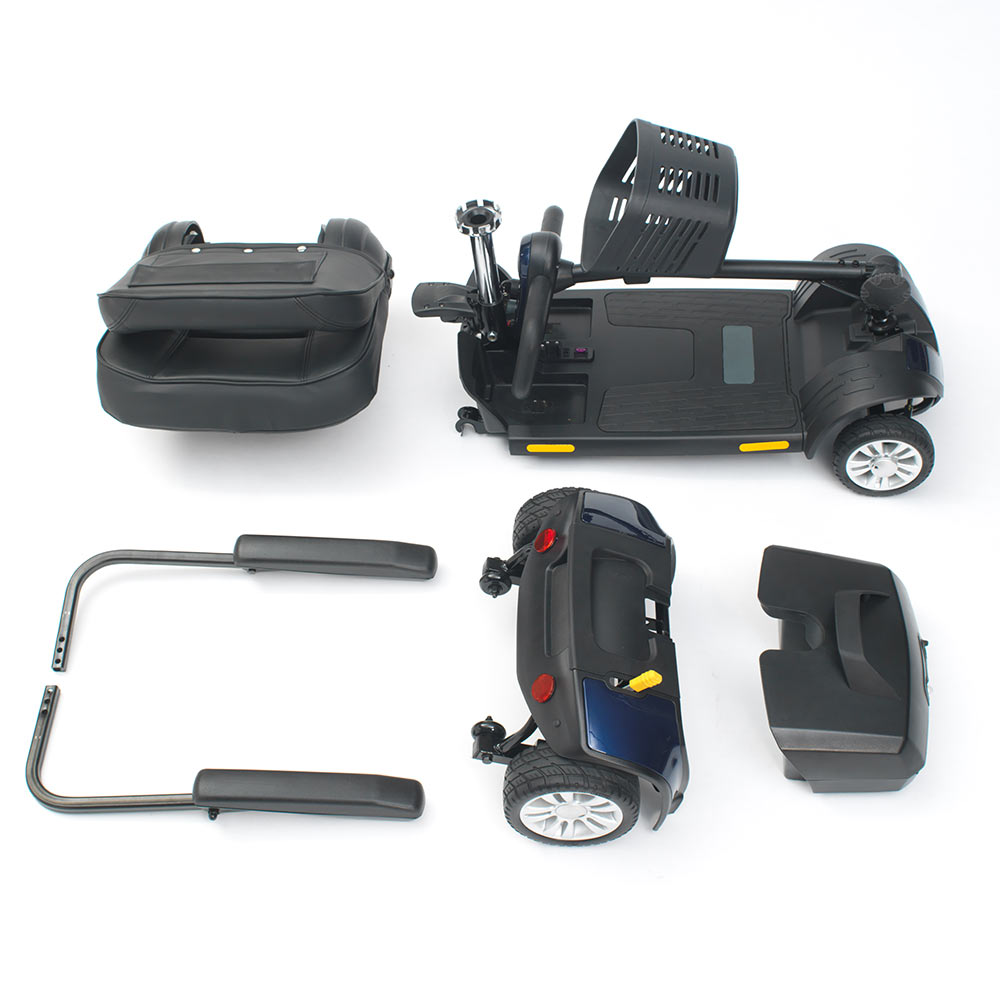 Livewell-Jaunt-4mph-Lightweight-Portable-Mobility-Scooter-Travel-Boot-Shoprider thumbnail 9