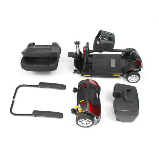 Livewell-Jaunt-Plus-4mph-Lightweight-Travel-Car-Boot-Portable-Mobility-Scooter thumbnail 5