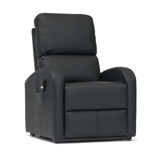 Details about Livewell Fairfield Single Motor Faux Leather Riser Lift Recliner Chair Armchair