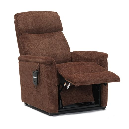 Details about Moreland Single Motor Fabric Riser Recliner Chair Armchair Lift Mobility Aid