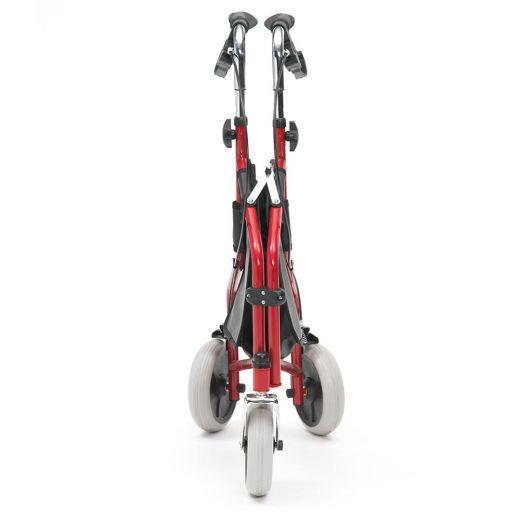 Livewell Easy Stroll Steel Adjustable Folding Tri Walker