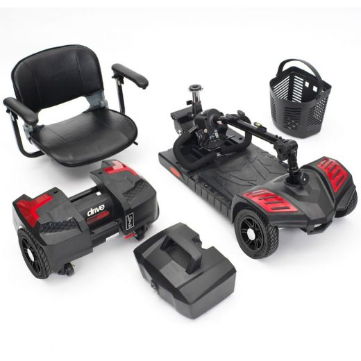 The-Style-Travel-Portable-Battery-Comfort-Lightweight-Mobility-Scooter-4mph thumbnail 12